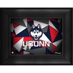 "UConn Huskies Fanatics Authentic Framed 5"" x 7"" Team Logo Collage"