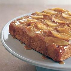 Caramel Apple Upside Down Cake. For the recipe email me at: erin281121@yahoo.com