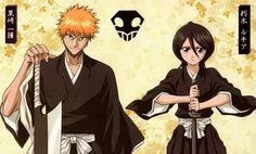 Ichigo y Rukia (Bleach)