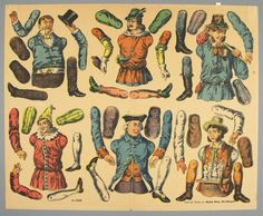 77.4168: Neu-Puppin Nr. 9502 | paper doll | Paper Dolls | Dolls | National Museum of Play Online Collections | The Strong