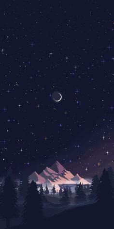 it8Bit — Night Skies  Pixel art by Sonreir Blah || IG