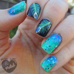 Instagram photo by peaceloveandpolish #nail #nails #nailart