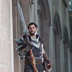 Dragon Age Hawke male cosplay
