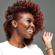 Short natural hairstyles 334603447315443853 - 10 Beautiful Holiday Natural Hairstyles For All Length & Textures You Should Try Holiday Hairstyles, Teen Hairstyles, Braided Hairstyles, Black Hairstyles, Simple Curly Hairstyles, Natural Updo Hairstyles, Professional Natural Hairstyles, Amazing Hairstyles, Dreadlock Hairstyles