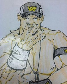John Cena by James Anderson #WWE