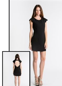 $145 Blaque Label Open Back Lace Dress  http://www.estiloboutique.com/collections/women/products/blaque-label-open-back-lace-dress