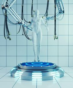Weird and surrealist environments dark light and neon of Devansh Atray Futuristic Interior, Futuristic Art, Futuristic Technology, Technology News, Arte Robot, Ex Machina, Neon, Ghost In The Shell, Detroit Become Human
