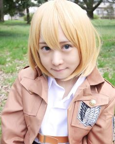 "1,259 Suka, 117 Komentar - あま津うに(・ω・)AmatsuUni (@amatsuuni) di Instagram: ""Throwback(Armin Cosplay)"""