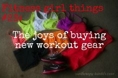 New workout clothes! my-new-healthy-life