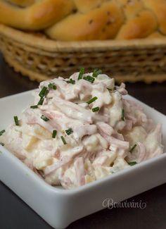 Šalát na chlebíčky • recept • bonvivani.sk