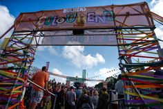 Bulmer's Colourena at Isle of Wight Festival 2015 #LiveColourful #Bulmers #Cider #Heineken #IOW15 #Festival #BrandExperience #RPM