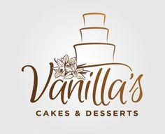 Vanilla's Cakes & Desserts Logo Design