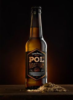 Pol Nostrum Ale. Identity & packaging. on Behance