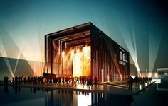 Polish Pavilion entry for Milan EXPO 2015 | PIG Architects | Bustler