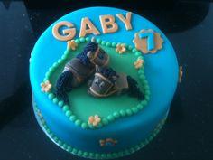 Paarden taart ter gelijkheid van verjaardag Gaby door TaartvanLaura