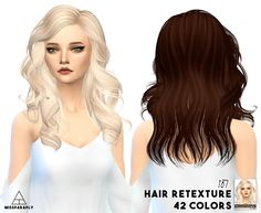 Miss Paraply: SkySims, Butterflysims hairstyles retextured  - Sims 4 Hairs…
