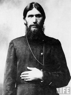 *GRIGORI RASPUTIN ~ the MAD MONK whose influence on the family of the Czar was negative.