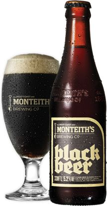 Monteiths, New Zealand.  Excellent with New Zealand lamb!   An octoberfest/maerzen style lager.