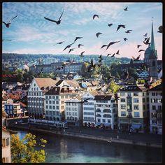 Limmatquai, Zürich / Foto by Zerrin Desole