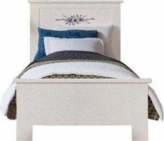 *Werbung* Home affaire Bett »Ranke«, in 3 Breiten mit Blumendruck auf Kopfteil #Bett #Schlafzimmer #Möbel #schlafzimmermöbel