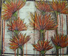 ten thirty-six arts and crafts ... ellen vargo: Another Painted Map Page
