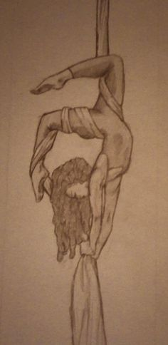Inspires me to draw more, AND to continue to practice on those silks... two very beautiful arts