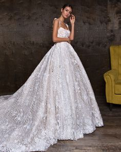 Tenderness is the first thing that comes to mind, when you see the collection. Timeless beauty is a versatile collection represented both, delicate dresses decorated with laces and elegant classic images of exclusive fabrics.