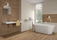 Série Autumn Architectural Design Studio, Master Bedroom Bathroom, Casual Living Rooms, Natural Bathroom, Bathroom Design Inspiration, Bath Tiles, Modern Bedroom Furniture, Laundry In Bathroom, Beautiful Bathrooms