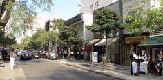 Um dos principais centros de consumo de São Paulo, a rua Oscar Freire, nos Jardins, tem um mix de lojas e restaurantes em sua região.