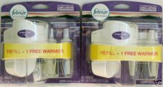2 Febreze NOTICEables Warmer & Dual Scented Oil Mediterranean Lavender Bbq Lighter, Foot Powder, Gillette Fusion, Cotton Pads, Vaseline, Bar Soap, Lavender, Oil, Ebay