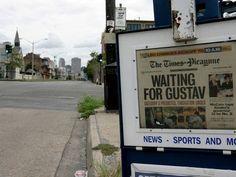 """Com a difusão do hábito de ler notícias em meio digital, Nova Orleans se torna a primeira cidade grande dos EUA sem um jornal impresso diário. O """"New Orleans Times-Picayune"""", com 175 anos de circulação e um Prêmio Pulitzer em 2005 pela cobertura do furacão Katrina, passará a ter apenas 3 edições semanais. O Globo ♦ http://glo.bo/Jornal-NO"""
