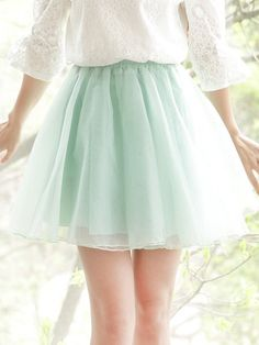 beautiful organza skirt :)