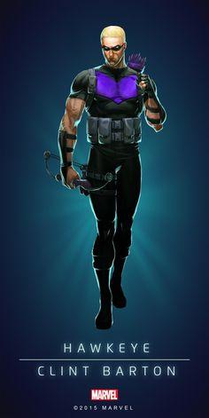 Hawkeye Modern Poster-01