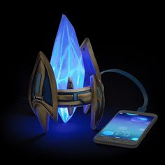 This #Starcraft Protoss Pylon USB Charger looks awesome. This cool charger lights up and has 2 ports that are compatible with anything that charges via USB.  Charge your gadgets in style. Starcraft style.    Starcraft Protoss Pylon USB Charger  Starcraft II Protoss Pylon Desktop Power St