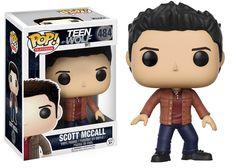Teen Wolf Scott McCall Pop! Vinyl Figure [Pre-order]