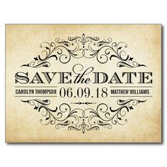 215 best vintage save the date cards images on pinterest in 2018