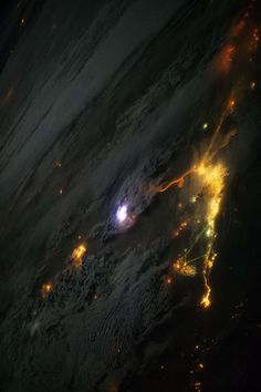 Lightning Sprites From Space