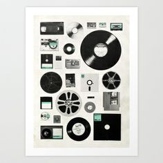 """""""Data"""" - Numbered Art Print by Florent Bodart on Curioos"""