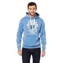 Tokyo Laundry® Burn-Out Printed Hoody from Sears Catalogue  $65.00  #SearsWishlist.