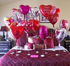 Sorpresas para cumpleaños o aniversario de novios.
