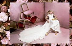 LUCIA SE CASA - Vestido de novia, bridal wedding alta costura de Santoscostura @luciasecasa @santoscostura www.santoscostura.com