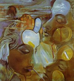 Salvador Dali - Mirror Women Mirror Head 1982