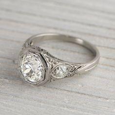 Vintage 1920s Diamond Engagement Ring