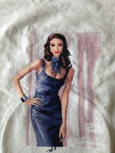 Isabella by John Clayton. Over half way done. Cross Stitch Gallery, John Clayton, Cross Stitching, Point, Embroidery, Beautiful, Crosses, Needlepoint, Crewel Embroidery
