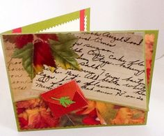 A personal favorite from my Etsy shop https://www.etsy.com/listing/254055248/hand-made-cards-fall-leaves-autumn-mini
