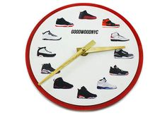 The Perfect Clock For Sneakerheads Who Know Their Air Jordans
