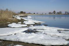 Icy Bay by Lynn Benning on Capture Outdoors Maryland // Kent Island near the bridge