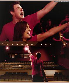 leamichele   Glee   Finchel