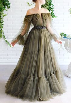 Elegant Dresses, Pretty Dresses, Beautiful Dresses, Formal Dresses, Gala Dresses, Cheap Prom Dresses, Ball Gowns Evening, Evening Dresses, Hijab Evening Dress