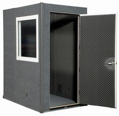 Our most popular VocalBooth, the single wall designed Gold Series is used for just about any professional recording or sound isolation application. Studio Room Design, Home Studio, Chair Design, Wall Design, Studio Foam, Recording Booth, Sound Isolation, Light Hardwood Floors, Recording Studio Design